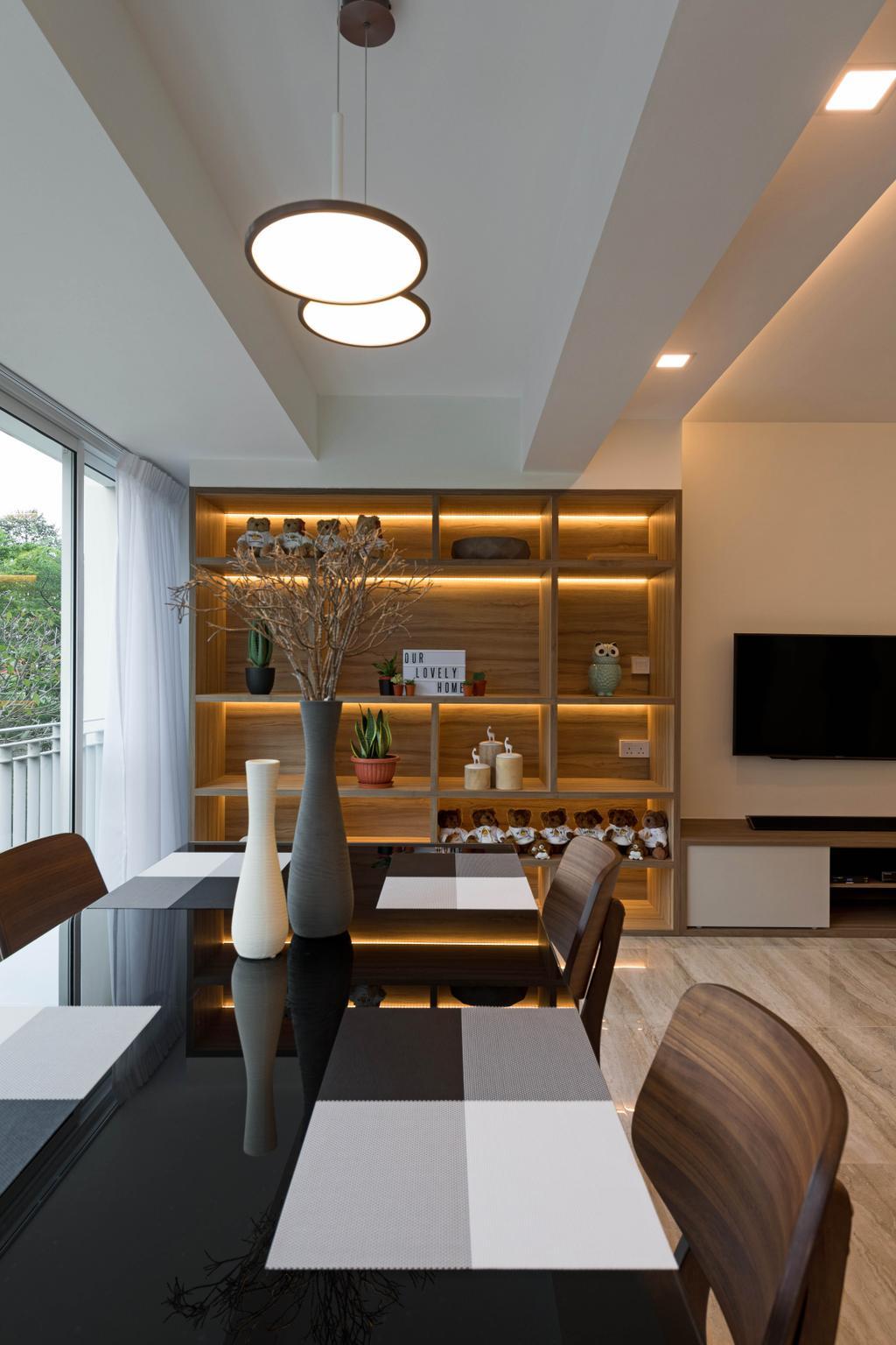 Contemporary, HDB, Dining Room, Ang Mo Kio Street 52, Interior Designer, ARK-hitecture