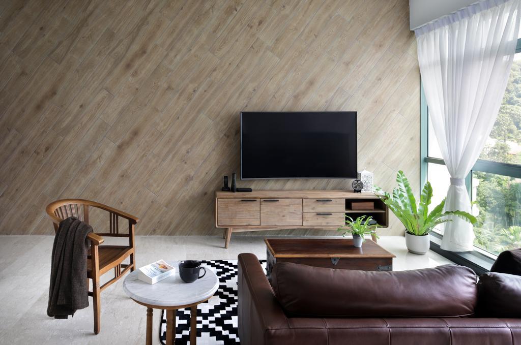 Minimalistic, Condo, Living Room, Merawoods, Interior Designer, Versaform, Modern