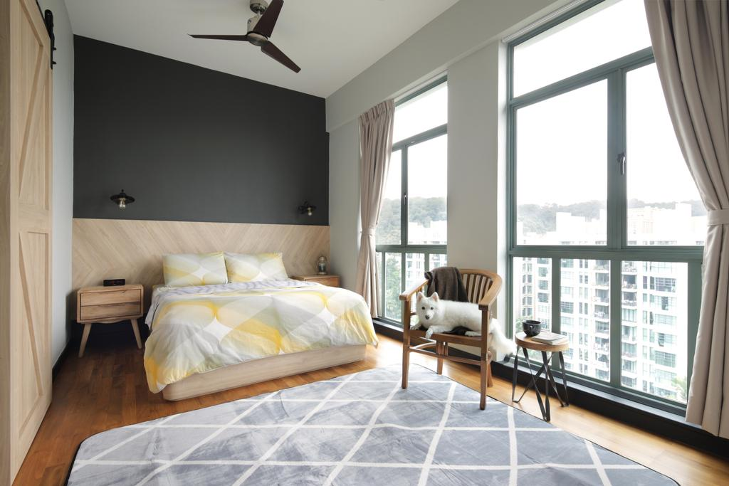 Minimalist, Condo, Bedroom, Merawoods, Interior Designer, Versaform, Modern