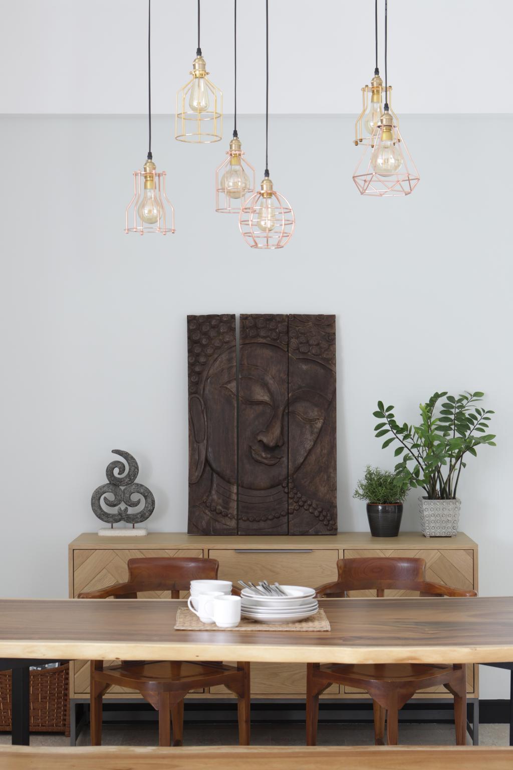 Minimalistic, Condo, Dining Room, Merawoods, Interior Designer, Versaform, Modern