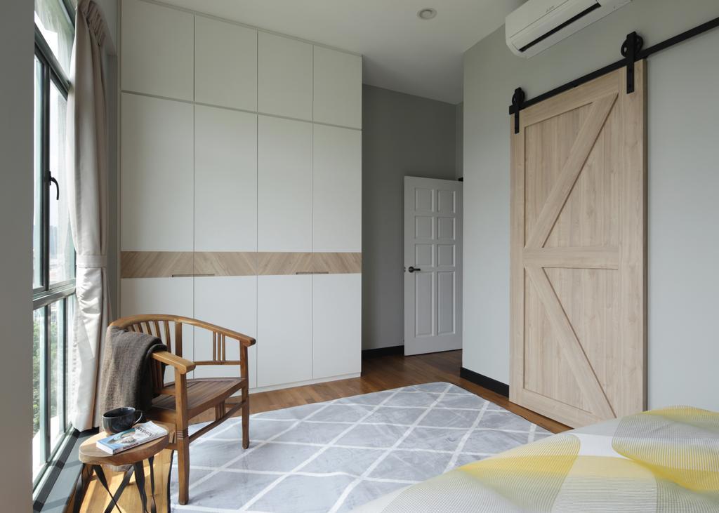 Minimalistic, Condo, Bedroom, Merawoods, Interior Designer, Versaform, Modern