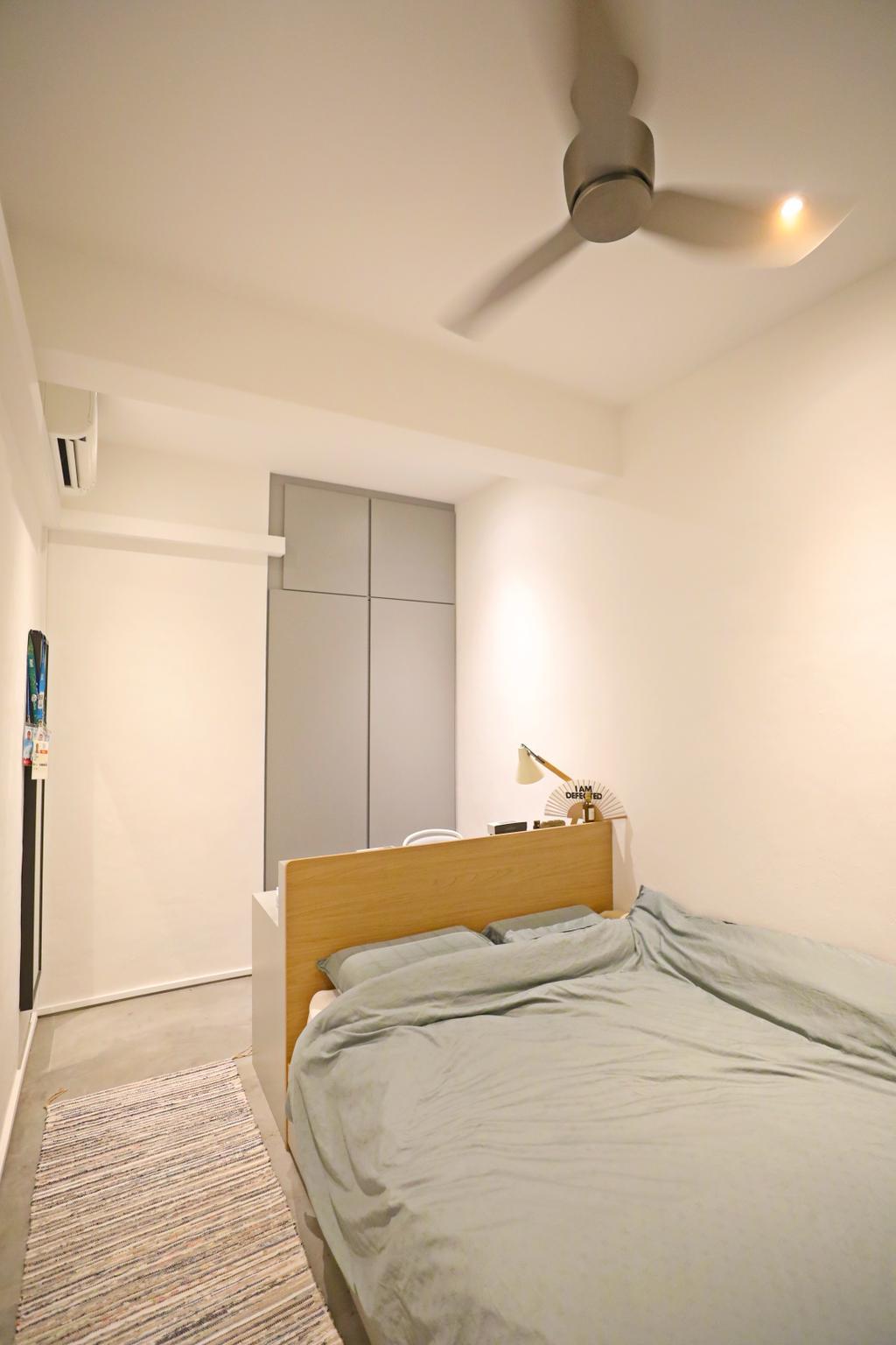 Industrial, Landed, Bedroom, Kim Keat Close, Interior Designer, Renex Interior, Contemporary