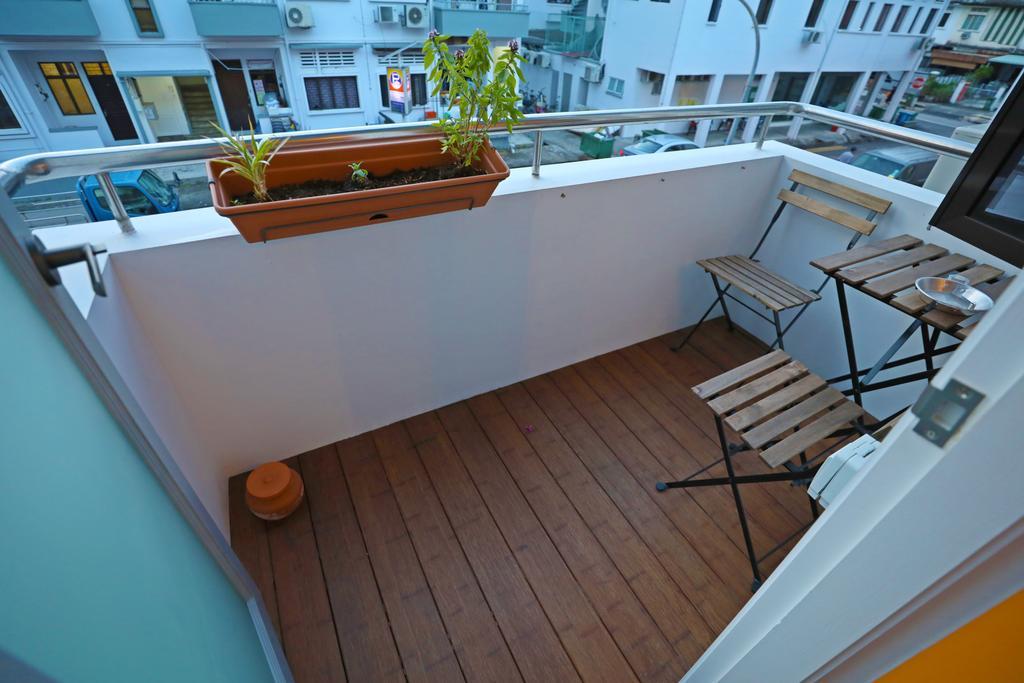 Industrial, Landed, Balcony, Kim Keat Close, Interior Designer, Renex Interior, Contemporary