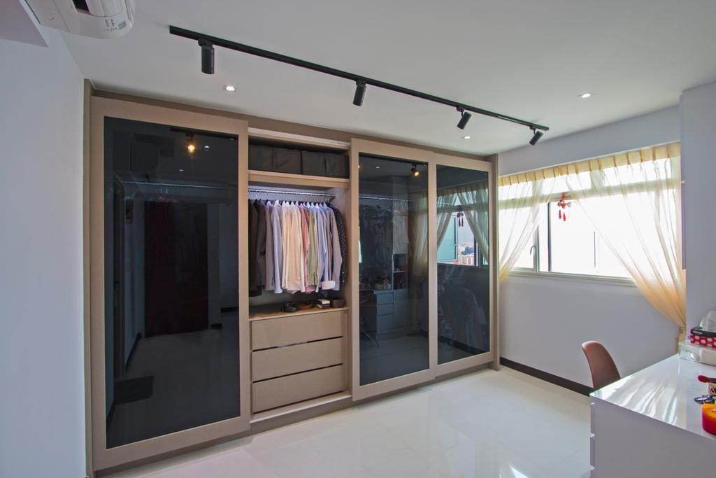 Contemporary, HDB, Lorong Limau, Interior Designer, Renex Interior