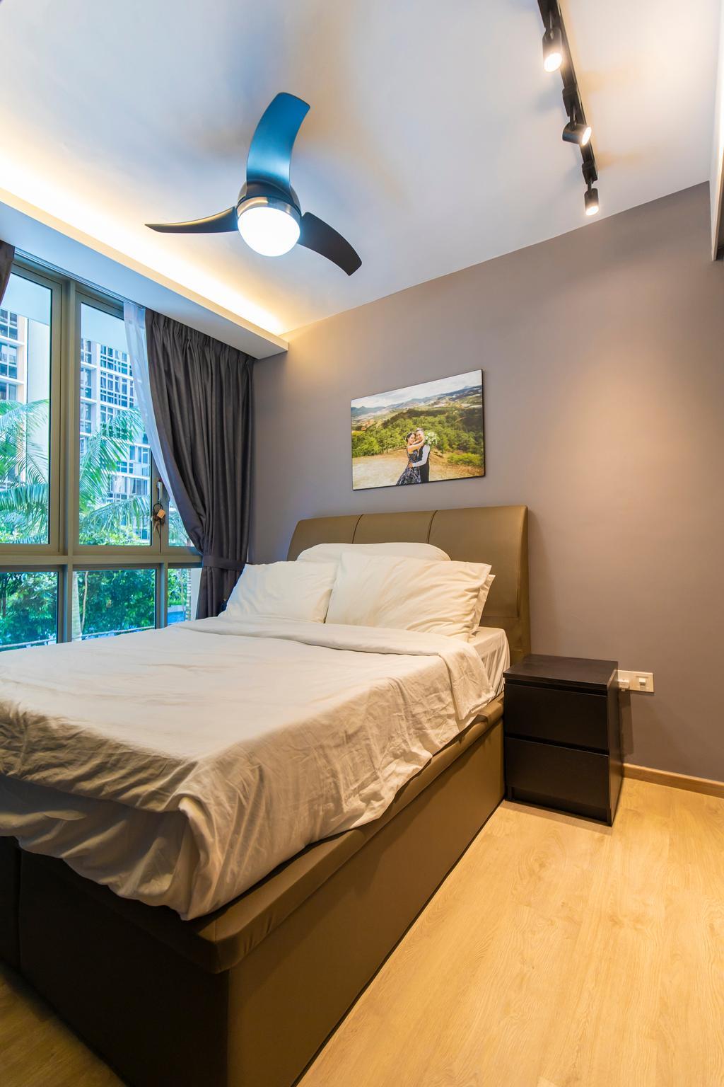 Contemporary, Condo, Bedroom, Sol Acres, Interior Designer, Renex Interior