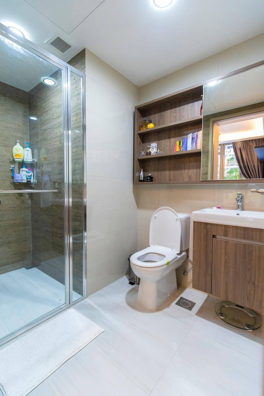 Contemporary, Condo, Bathroom, Sol Acres, Interior Designer, Renex Interior