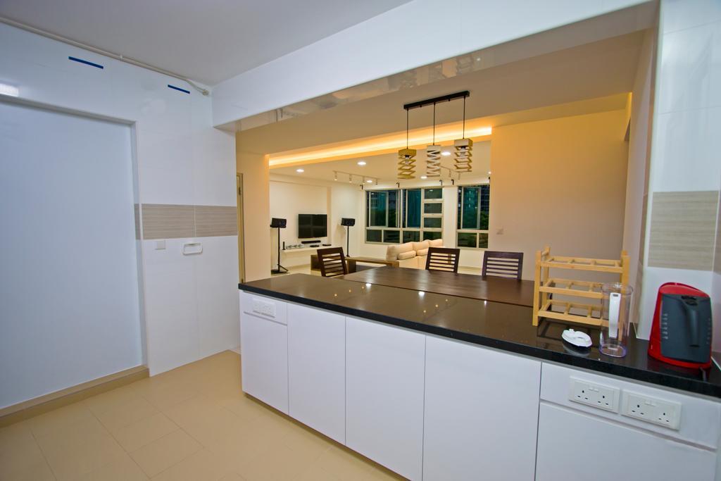 Contemporary, HDB, Kitchen, Upper Serangoon Road, Interior Designer, Renex Interior