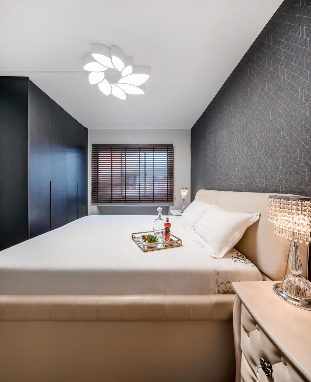 Contemporary, HDB, Bedroom, Mei Ling Street, Interior Designer, Anhans Interior Design