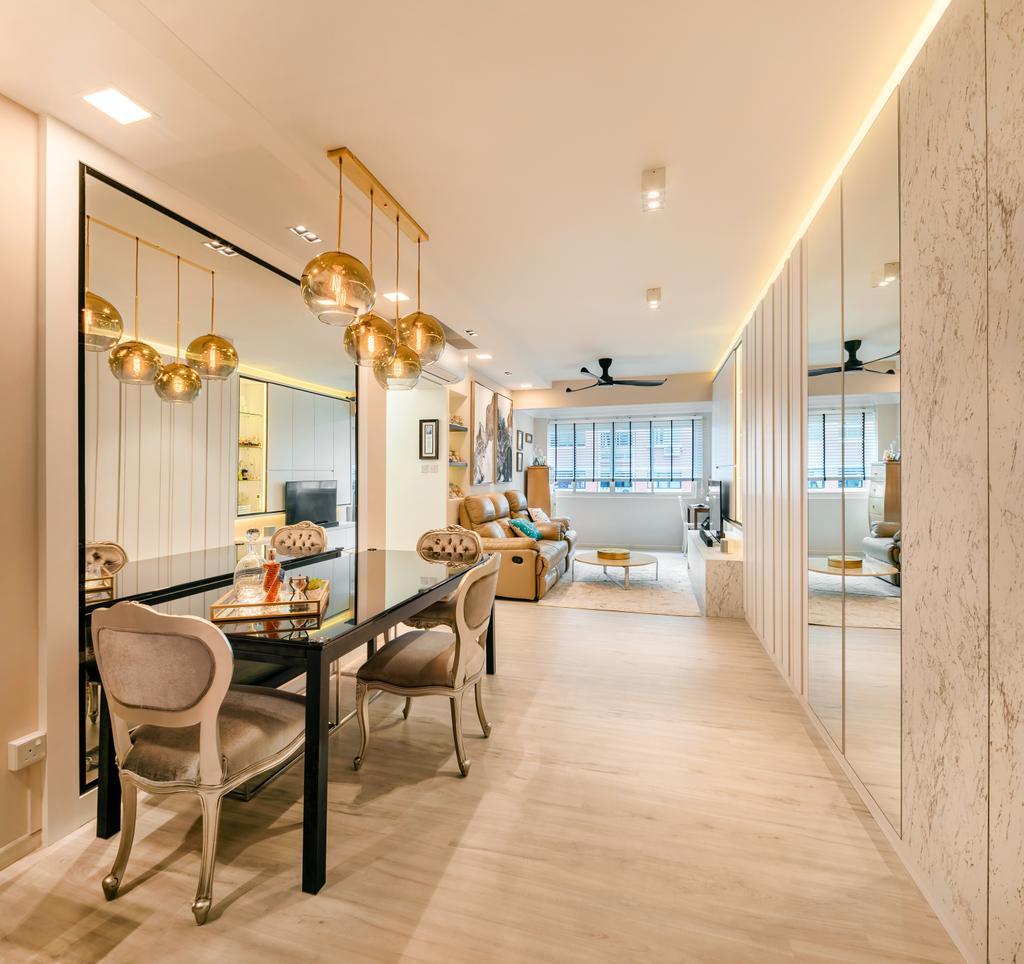 Contemporary, HDB, Living Room, Mei Ling Street, Interior Designer, Anhans Interior Design