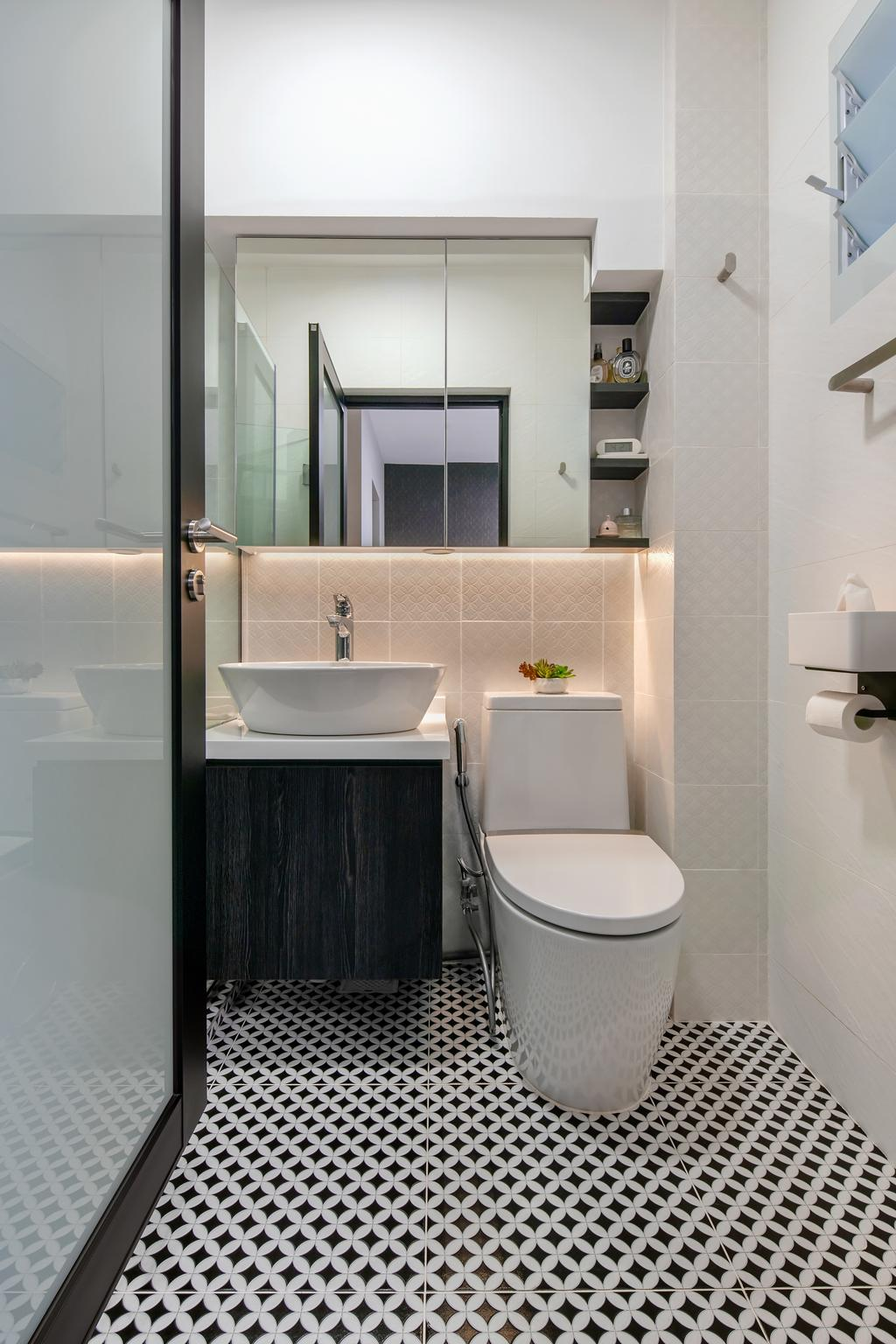 Contemporary, HDB, Bathroom, Mei Ling Street, Interior Designer, Anhans Interior Design