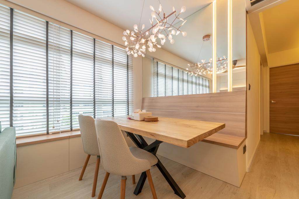 Scandinavian, HDB, Dining Room, Bukit Batok East, Interior Designer, Control Space Design Studio, Contemporary