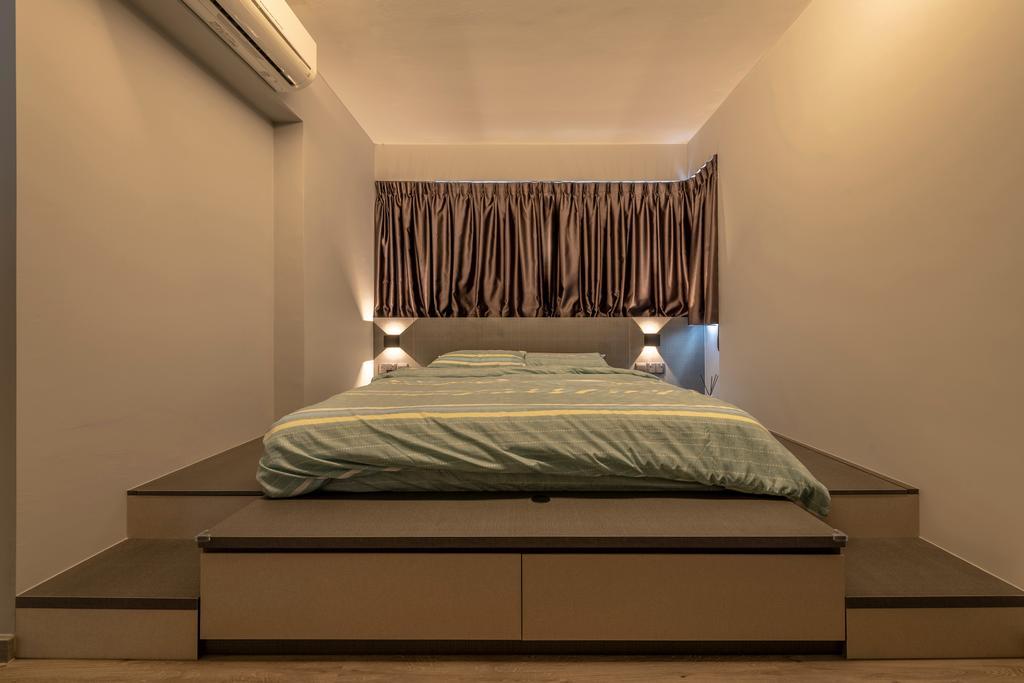 Scandinavian, HDB, Bedroom, Bukit Batok East, Interior Designer, Control Space Design Studio, Contemporary