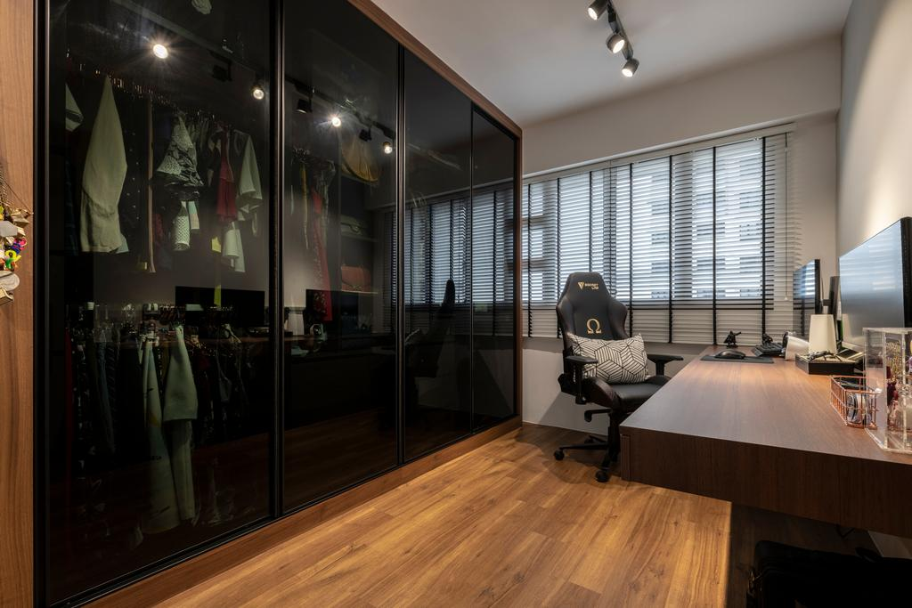 Contemporary, HDB, Study, Ghim Moh Link, Interior Designer, Control Space Design Studio