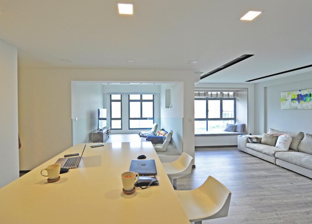 Contemporary, HDB, Dining Room, Punggol Way, Interior Designer, Omni Design