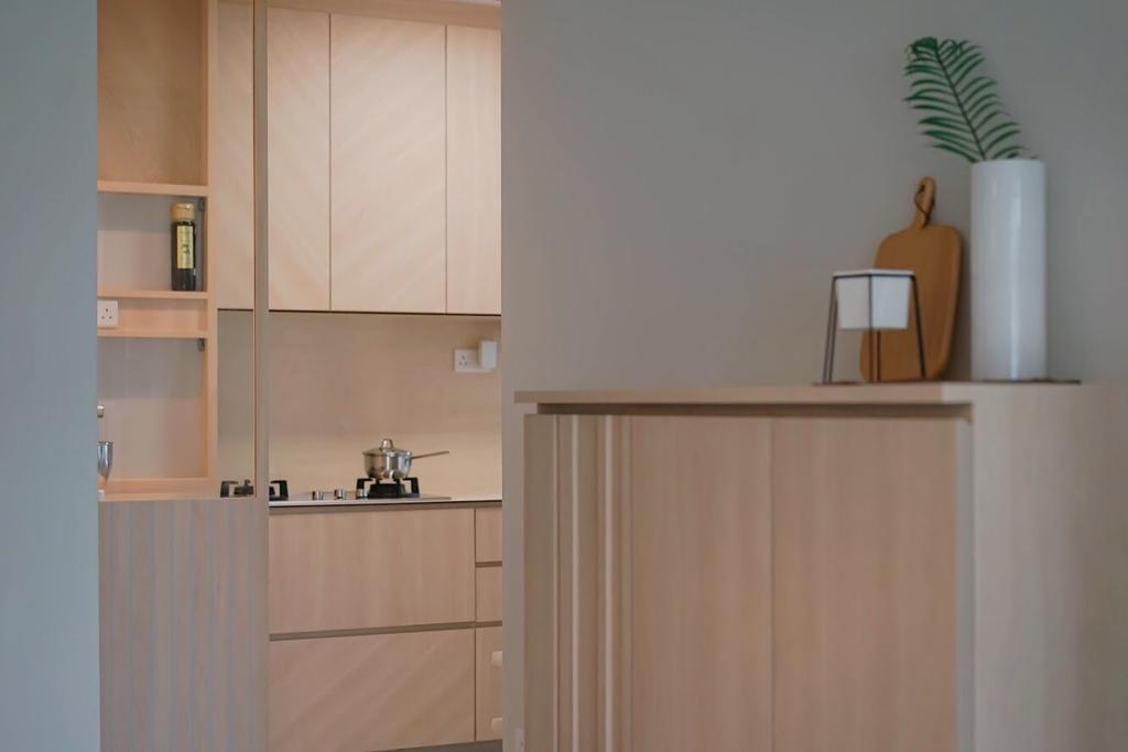 Minimalistic, HDB, Kitchen, Punggol Central, Interior Designer, Authors • Interior & Styling