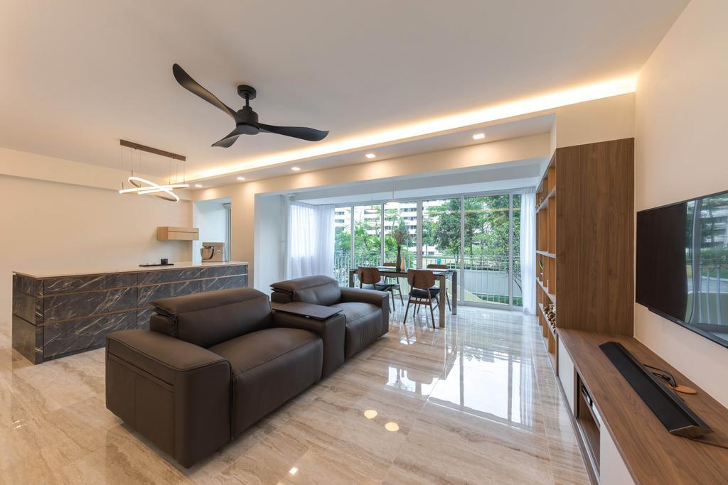 Contemporary, HDB, Living Room, Ang Mo Kio Street 52, Interior Designer, ARK-hitecture