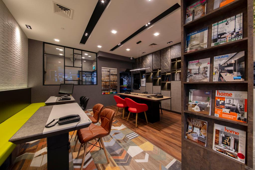 Yishun Avenue 9, Commercial, Interior Designer, New Age Interior, Contemporary