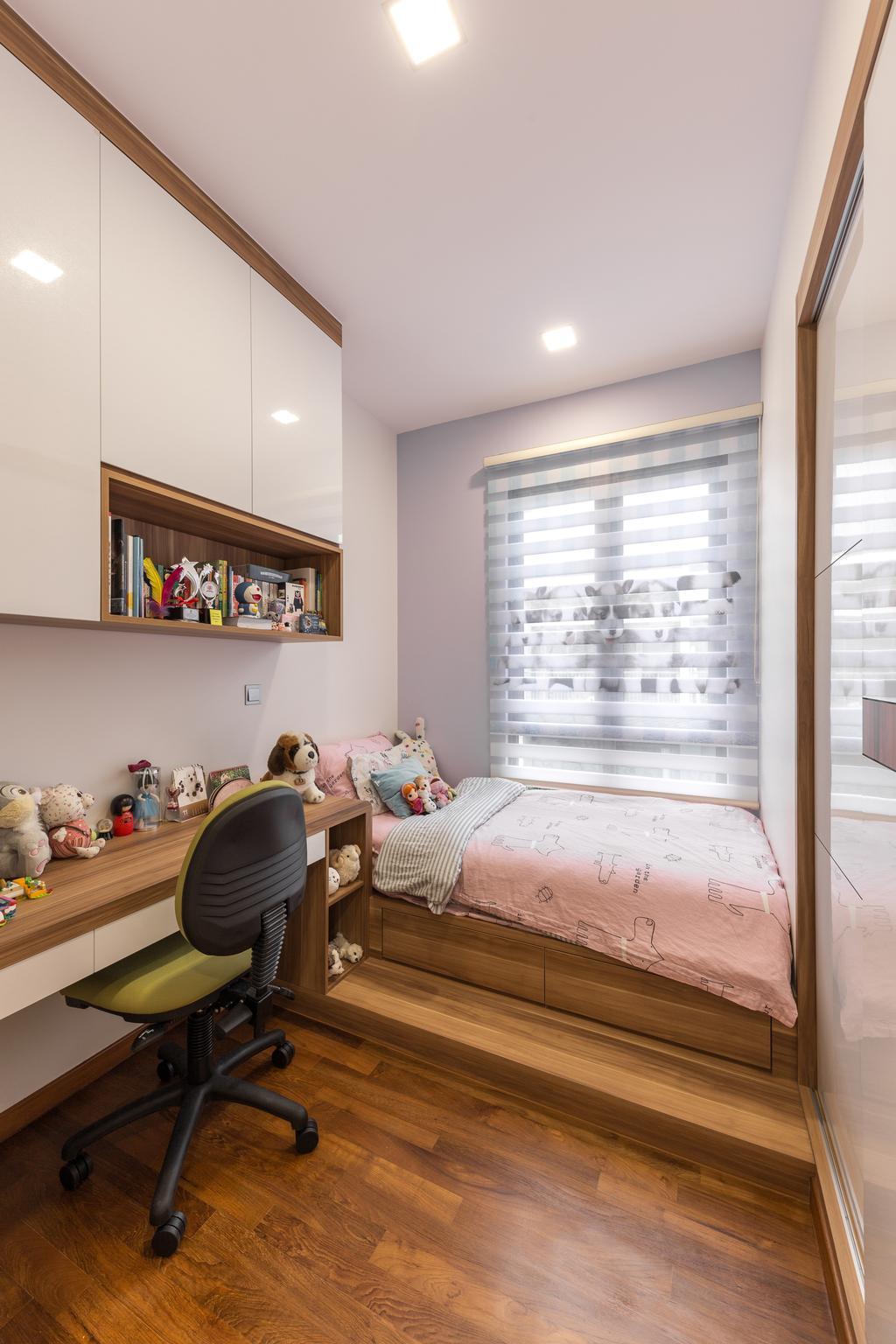 Contemporary, Condo, Bedroom, The Creek, Interior Designer, U-Home Interior Design