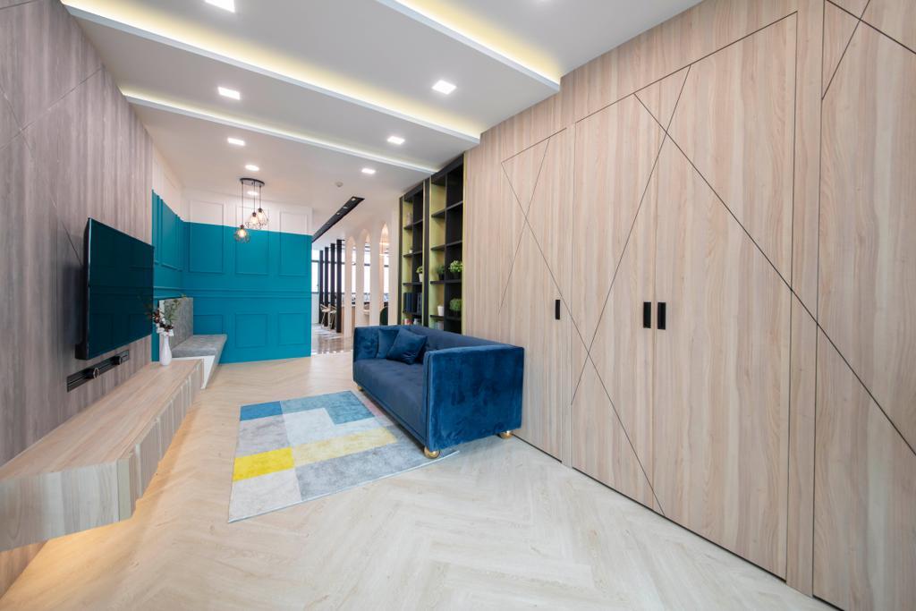 Tannery Lane, Commercial, Interior Designer, Escapade Studios, Contemporary, Scandinavian, Living Room