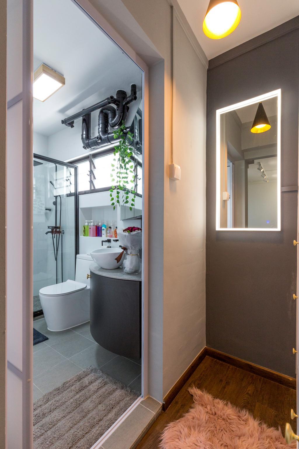 Contemporary, HDB, Bathroom, Senja Road, Interior Designer, Style Living Interior