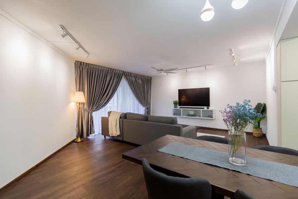 Contemporary, HDB, Dining Room, Senja Road, Interior Designer, Style Living Interior