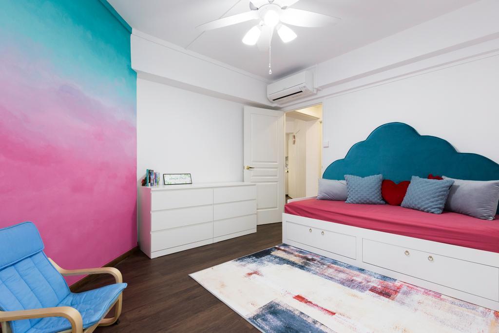 Contemporary, HDB, Bedroom, Senja Road, Interior Designer, Style Living Interior