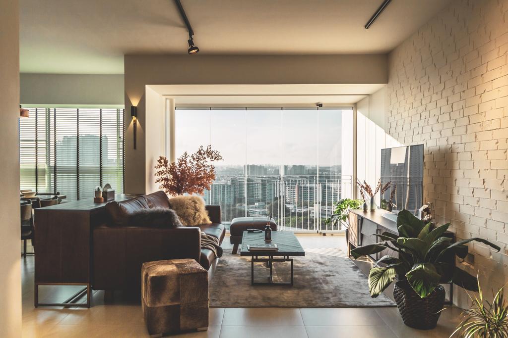 Contemporary, HDB, Living Room, Ang Mo Kio Street 52, Interior Designer, KDOT