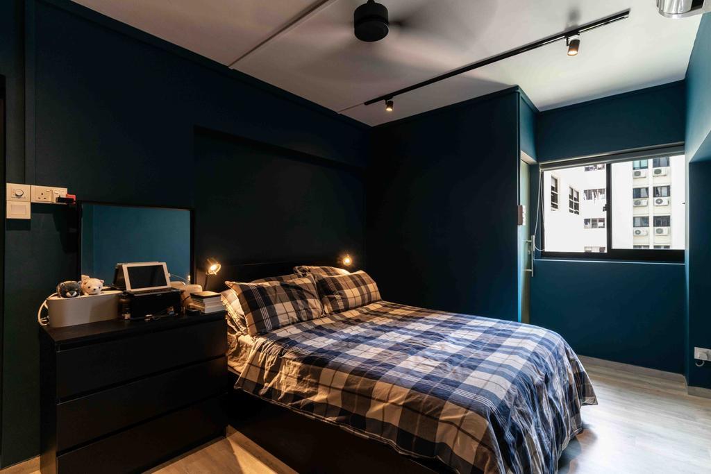 Scandinavian, HDB, Bedroom, Telok Blangah Drive, Interior Designer, Fineline Design