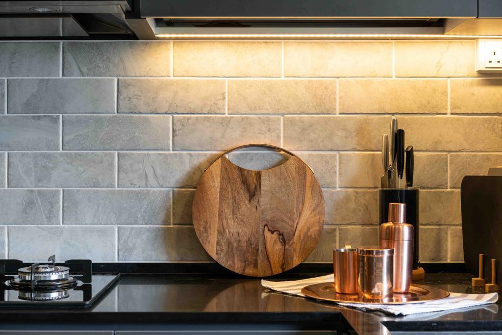 Scandinavian, HDB, Kitchen, Telok Blangah Drive, Interior Designer, Fineline Design
