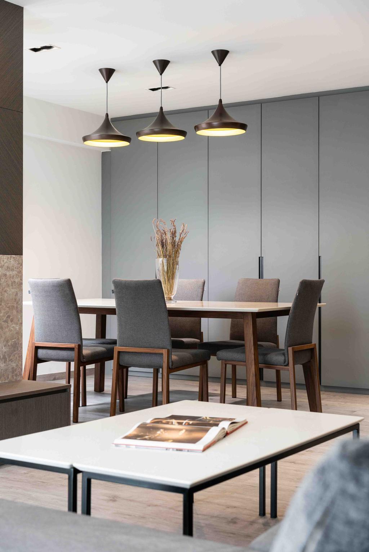 Contemporary, HDB, Dining Room, Edgefield Plains, Interior Designer, Fineline Design