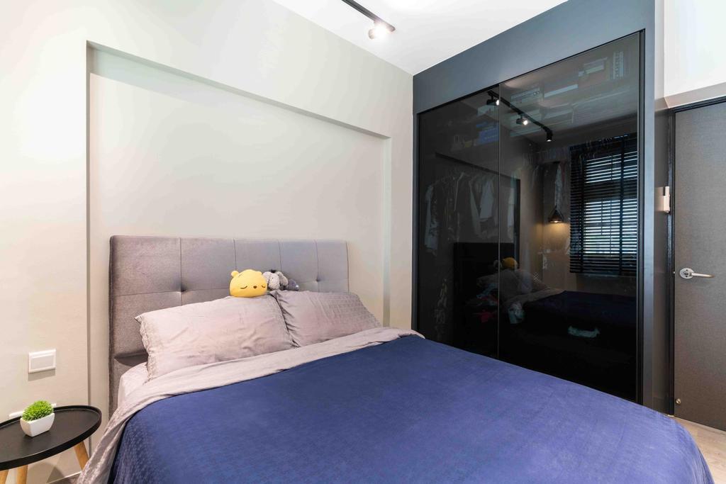 Contemporary, HDB, Bedroom, Edgefield Plains, Interior Designer, Fineline Design