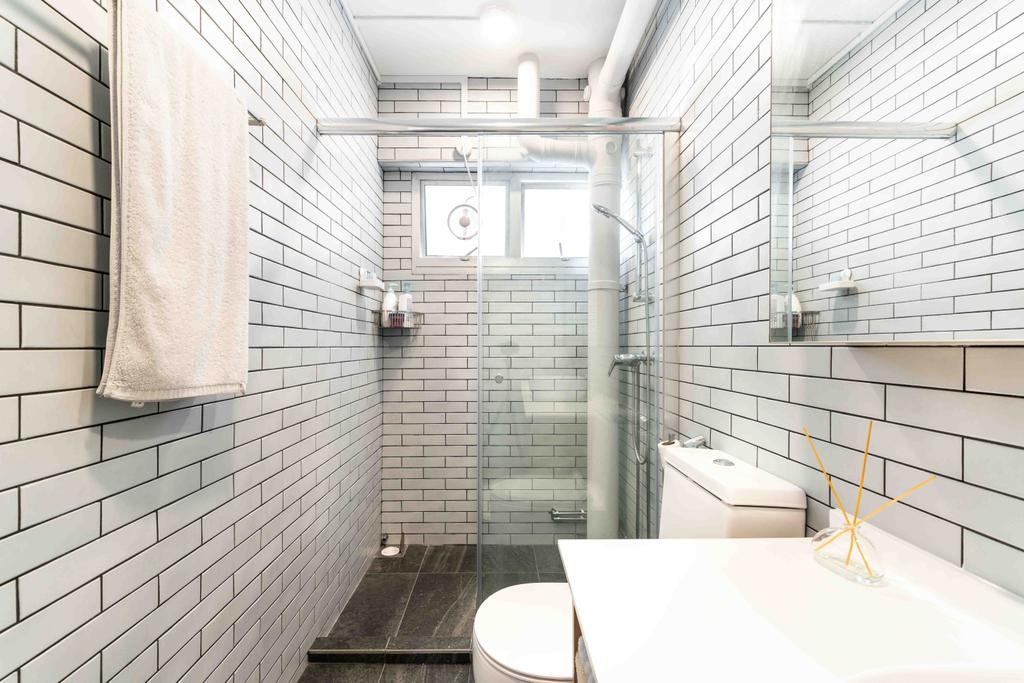 Minimalistic, HDB, Bathroom, Bishan Street 22, Interior Designer, Fineline Design