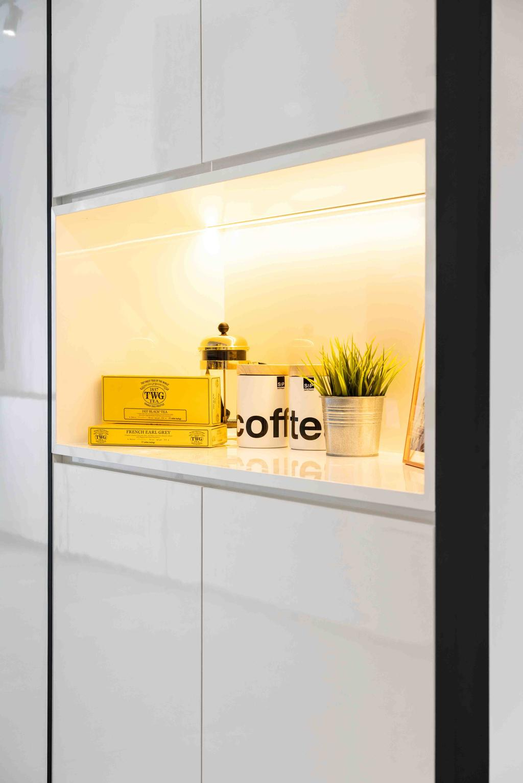 Contemporary, HDB, Living Room, Tampines Street 12, Interior Designer, Fineline Design