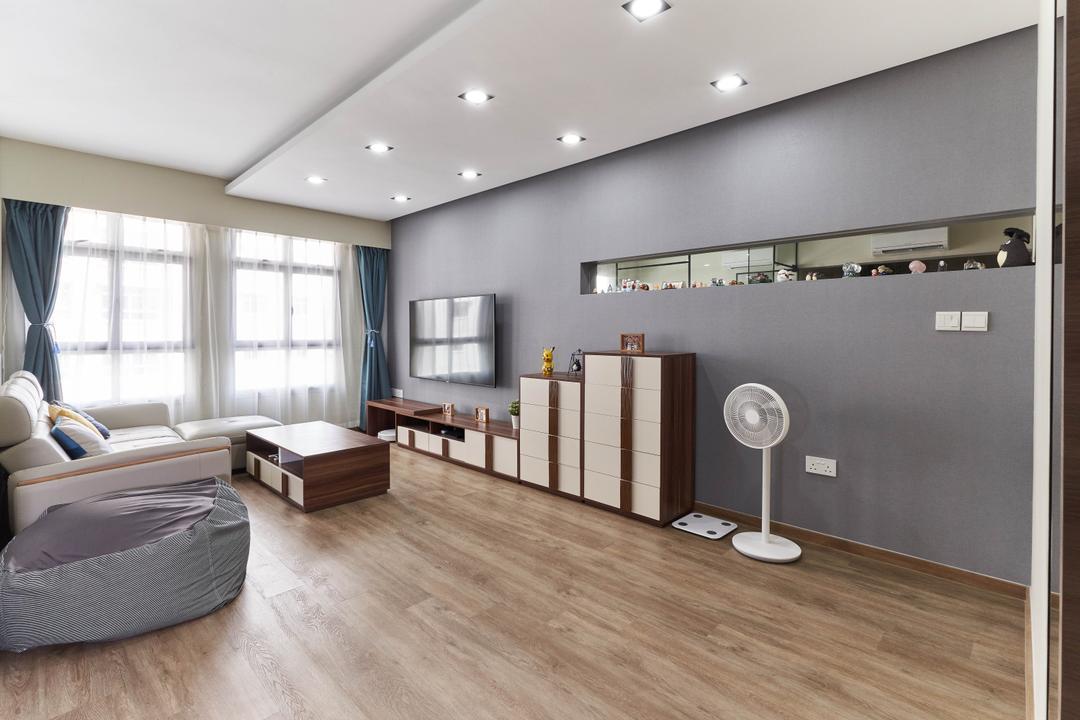 Canberra Street Living Room Interior Design 9