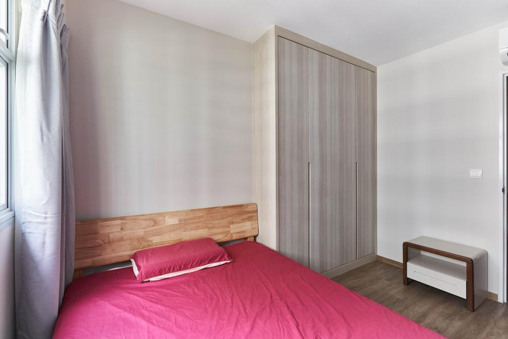 Contemporary, HDB, Bedroom, Canberra Street, Interior Designer, INCLOVER DESIGN