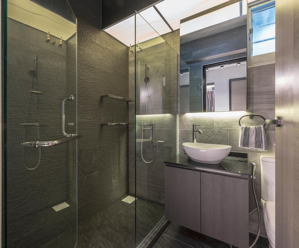 Transitional, HDB, Bathroom, Bedok North Street 4, Interior Designer, U-Home Interior Design
