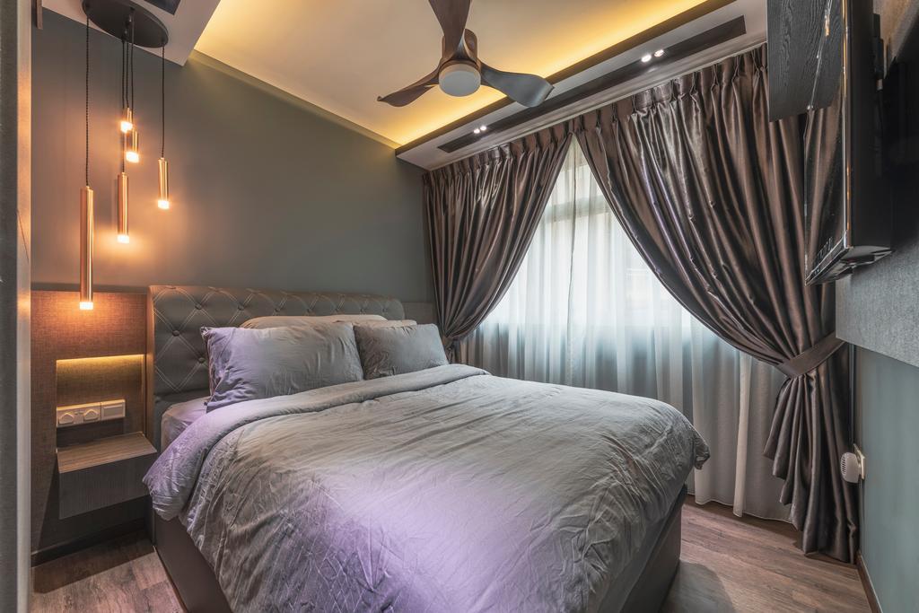 Transitional, HDB, Bedroom, Bedok North Street 4, Interior Designer, U-Home Interior Design