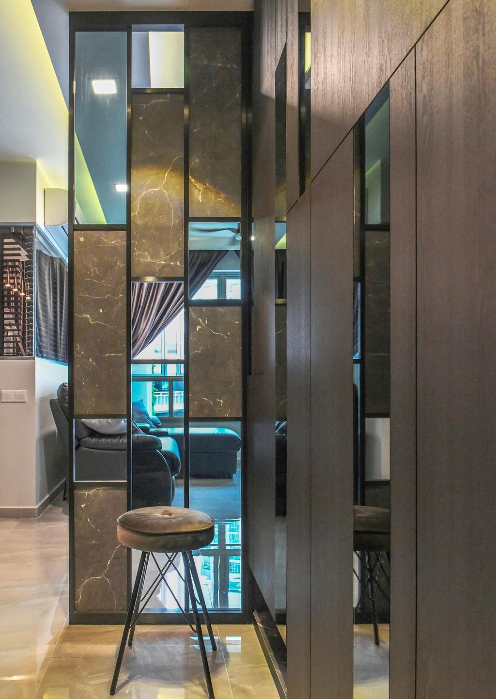 Transitional, HDB, Living Room, Bedok North Street 4, Interior Designer, U-Home Interior Design