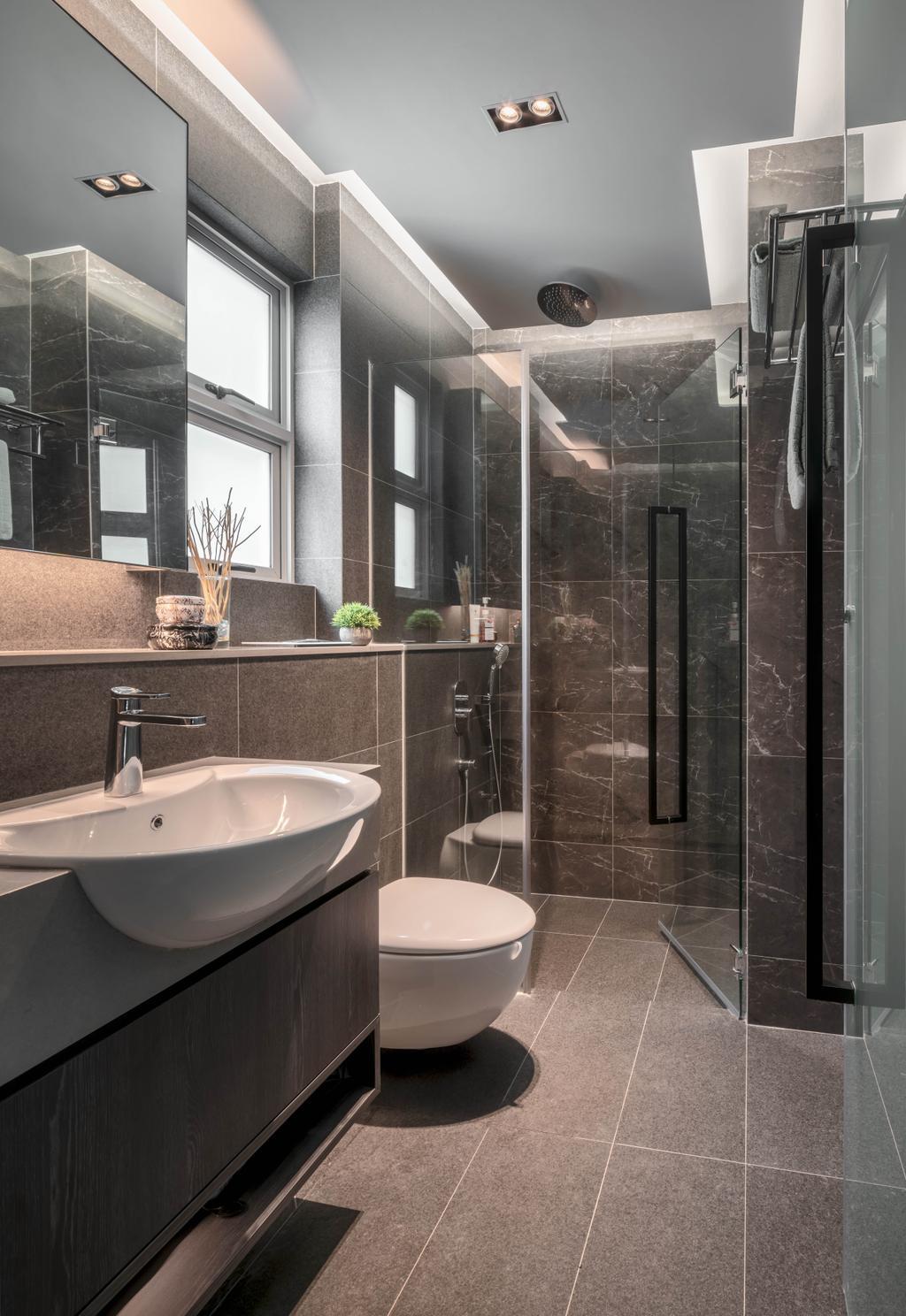 Contemporary, Condo, Bathroom, Mackenzie 88, Interior Designer, Summerhaus D'zign