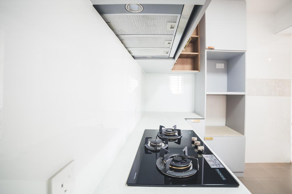 Contemporary, HDB, Kitchen, Canberra Crescent, Interior Designer, Archive Design