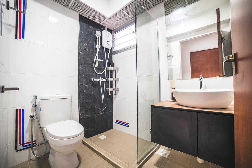 Contemporary, HDB, Bathroom, Canberra Crescent, Interior Designer, Archive Design
