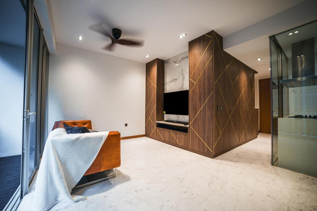 Contemporary, Condo, Living Room, Floridian, Interior Designer, Archive Design