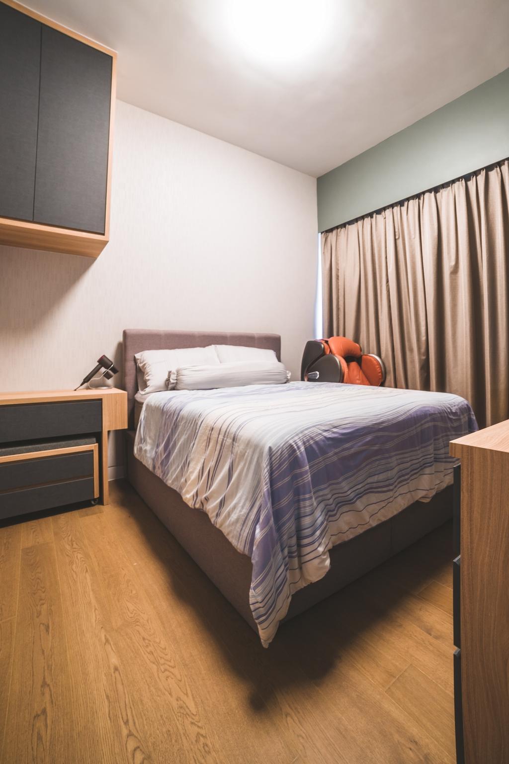 Contemporary, Condo, Bedroom, Highline Residences, Interior Designer, Archive Design