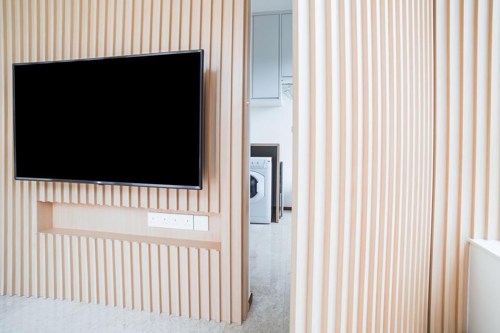 Contemporary, Condo, Living Room, Suites @ Amber, Interior Designer, Archive Design