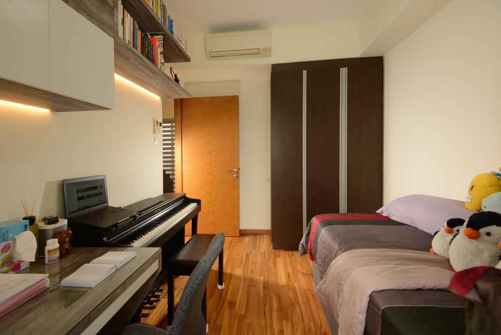 Contemporary, Condo, Study, The Parc Condominium, Interior Designer, Darwin Interior