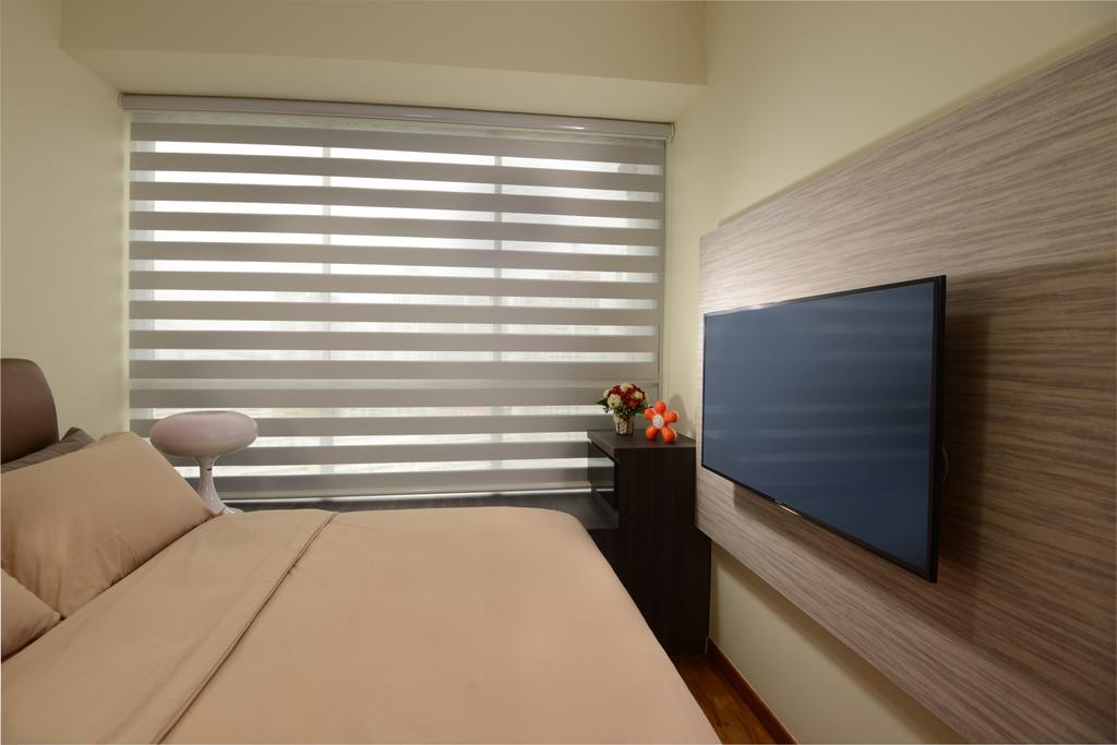 Contemporary, Condo, Bedroom, The Parc Condominium, Interior Designer, Darwin Interior