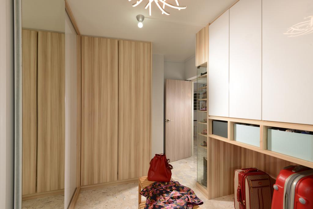 Contemporary, HDB, Eunos Crescent, Interior Designer, Darwin Interior, Retro