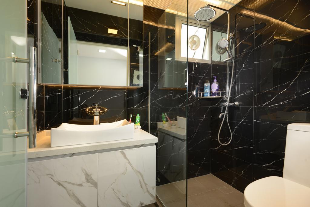 Contemporary, HDB, Bathroom, Telok Blangah Street 31, Interior Designer, Darwin Interior