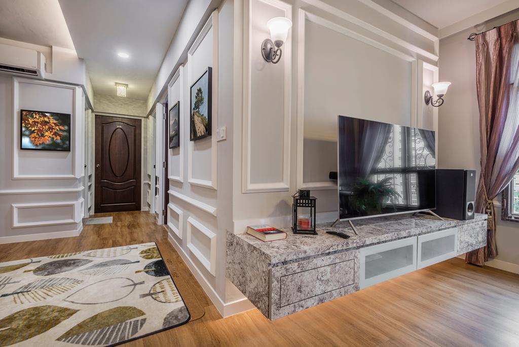Modern, HDB, Living Room, Canberra Crescent, Interior Designer, Darwin Interior