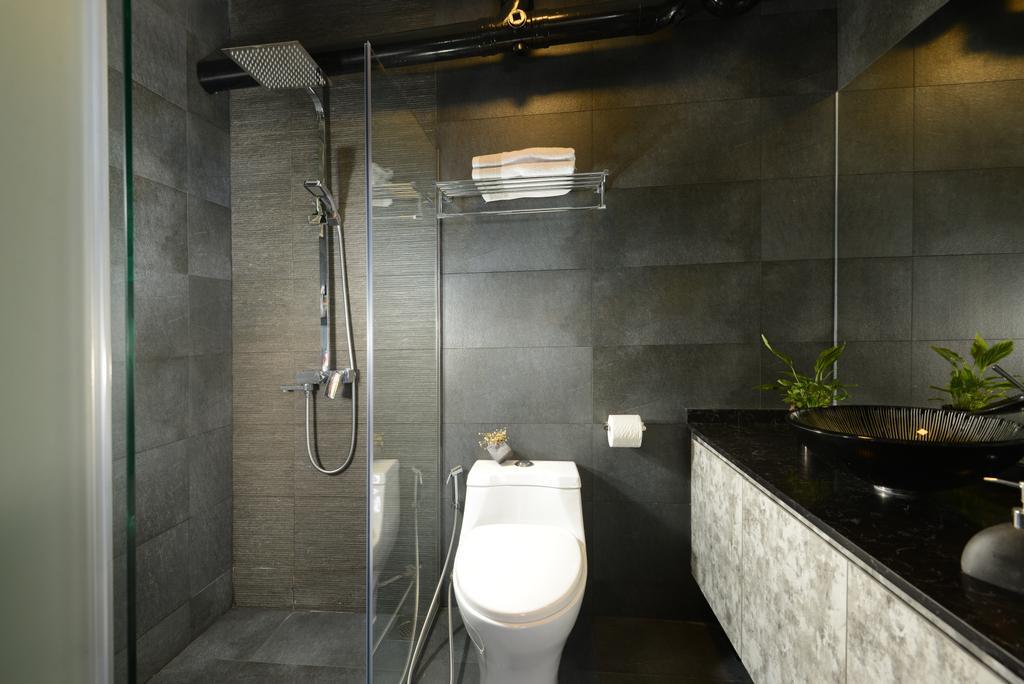 Contemporary, HDB, Bathroom, Rivervale Drive, Interior Designer, Darwin Interior